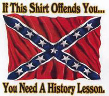confederate flag t shirt
