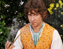 bilbo with pipe